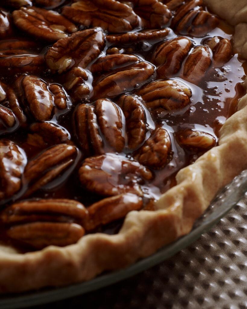 Thanksgiving pecan pie
