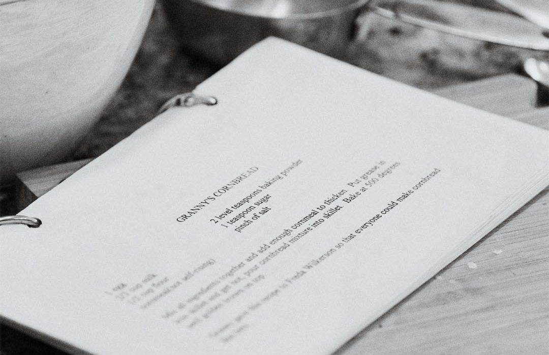Granny's Cookbook